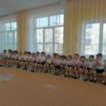 юнные спортсмены на празднике 23 февраля (2 младшая группа)