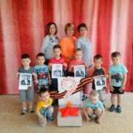 общая фотография детей, воспитателей и руководителя СП
