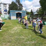 флешмоб на празднике посвяшенный Дню защиты детей
